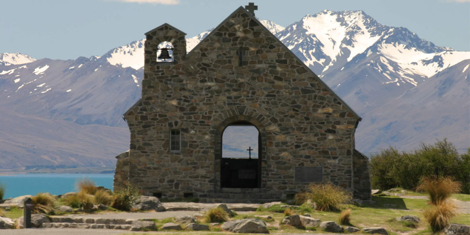 (NZ400.10) CHRISTCHURCH – MOUNT COOK – TWIZEL / TEKAPO – QUEENSTOWN – AUCKLAND – MATAMATA – ROTORUA