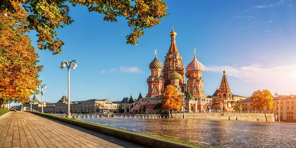Autumn Gold by the eyes of St. Basil