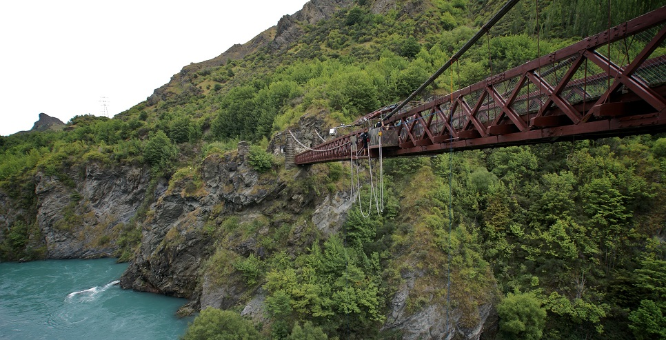 Kawarau Bridge bungy