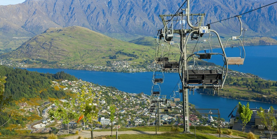 cáp treo Skyline Queenstown Gondola