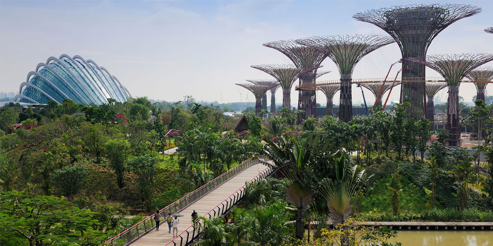 (SG002.04) Singapore – Garden By The Bay – Flower Dome – Sentosa – Spectra show – Jewel